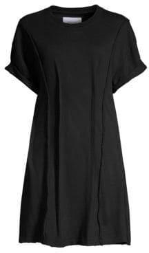 Current/Elliott Pinticked Mini T-Shirt Dress