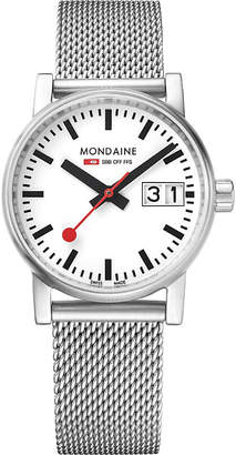 Mondaine MSE-30210-SM evo2 stainless steel watch