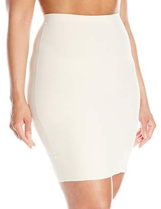 Yummie by Heather Thomson Women's Plus-Size Yulia Basic Layers Skirt Shaping Slip,3X