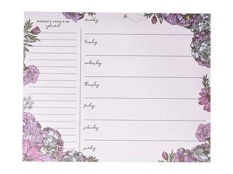Vera Bradley Weekly To Do List Pad