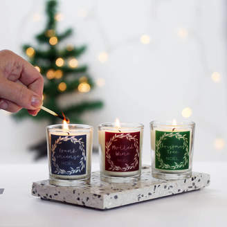 Hearth & Heritage Christmas Candle In Choice Of Scents