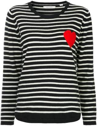 Parker Chinti & striped heart sweater