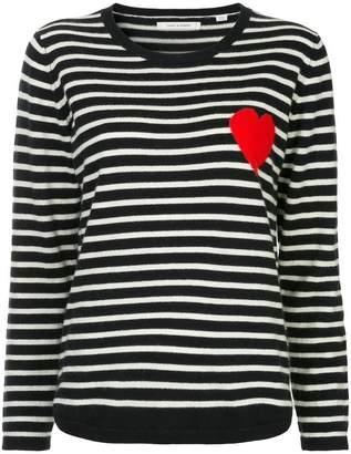 Parker Chinti & striped heart sweater