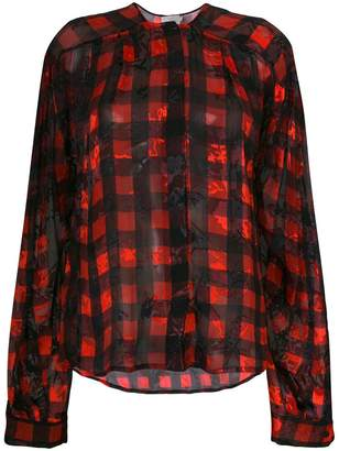 Preen by Thornton Bregazzi Molly gingham print blouse