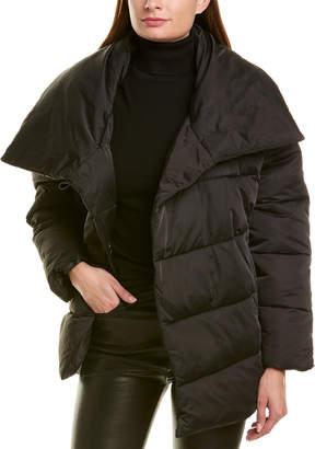 AVEC LES FILLES Wrap Puffer Jacket