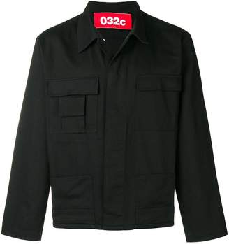 032c asymmetric pocket jacket