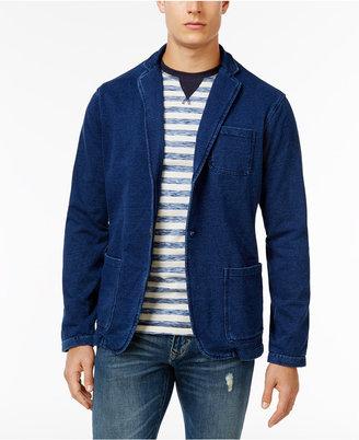 Weatherproof Vintage Men's Knit Denim Blazer, Only at Macy's $125 thestylecure.com