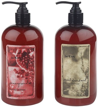 Wen WEN by Chaz Dean Sweet Almond Mint and Pomegranate Duo