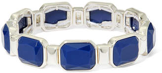 Liz Claiborne Blue Stone Stretch Bracelet