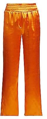 Cinq à Sept Women's Kylie Satin Track Pants