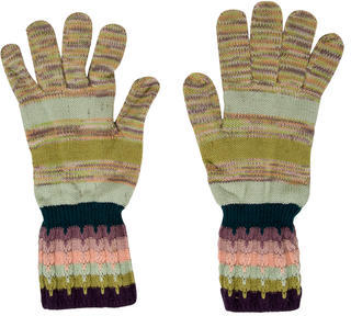 Missoni Missoni Wool Patterned Gloves