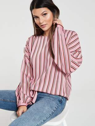 ca6a79ba66f51 Long Sleeve Tie Back Top - ShopStyle UK