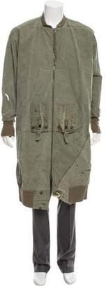 Greg Lauren Long Army Flight Studio Jacket