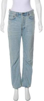 Acne Studios Blå Konst Five Pocket Relaxed-Fit Jeans w/ Tags