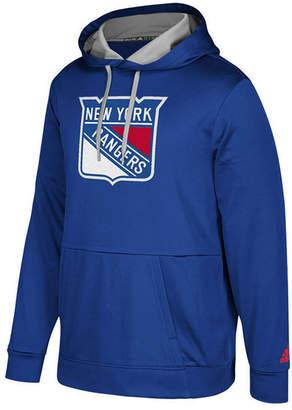 adidas Men's New York Rangers Primary Pullover Social Hoodie