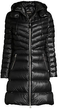 Mackage Women's Lara Hooded Quilted Down Coat
