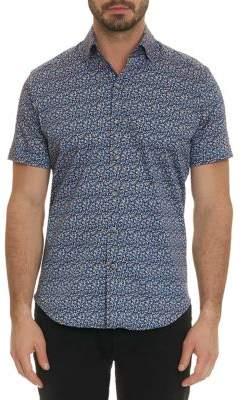 Robert Graham Reiter Graphic Classic-Fit Short-Sleeve Button Down Shirt