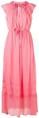 Twin-Set ruffle maxi dress