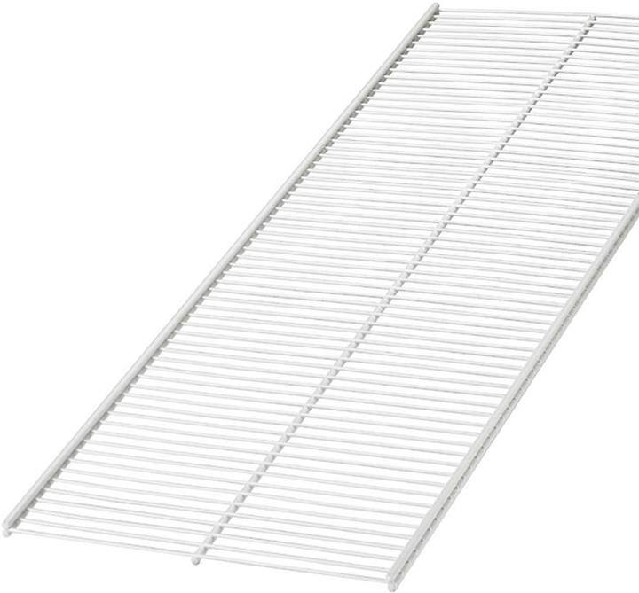 "Elfa 20"" x 4' Ventilated Shelf White"