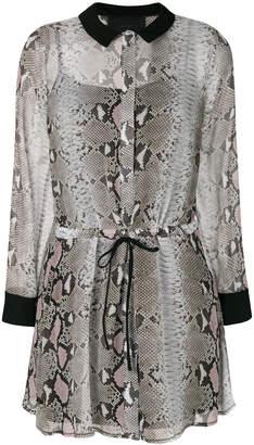 Philipp Plein Sullivan Goldie shirt dress