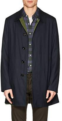 Barneys New York Men's Wool-Silk Reversible Raincoat