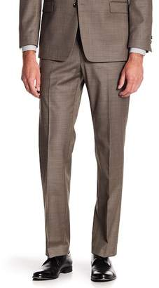 "Tommy Hilfiger Tyler Modern Fit TH Flex Performance Wool Blend Sharkskin Suit Separates Pant - 30-34"" Inseam"