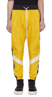 Daniel Patrick Stripe outseam track pants