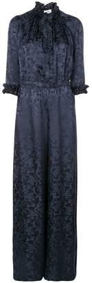 Warm floral patterned jumpsuit