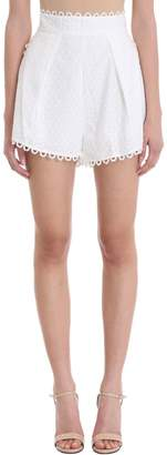 Zimmermann Melody High-waisted Shorts