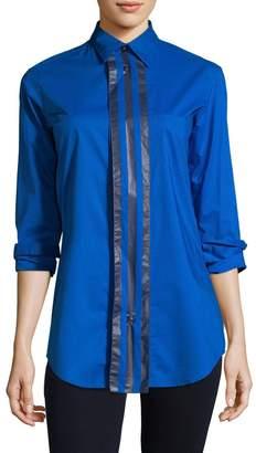 Y-3 Women's Contrast Stripe Blouse