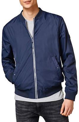 Esprit Lined Zip Front Bomber Jacket