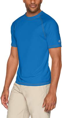 ZeroXposur Men's Island Printed Sun Protection Top/Swim Shirt