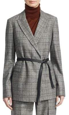 Loro Piana Jadyn Keatings Wool Suit Jacket