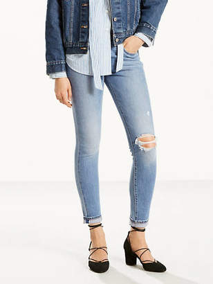Levi's 721 High Rise Skinny Selvedge Jeans