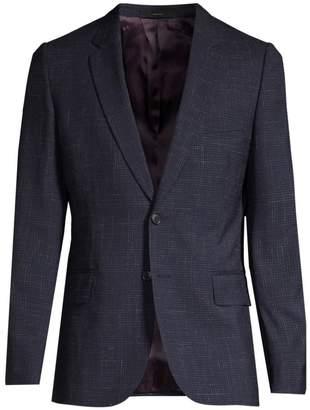 Paul Smith Soho Linen & Wool Check Jacket