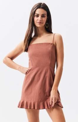 LA Hearts Ruffle Mini Dress