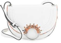 Sam Edelman Rio Half Moon Leather Saddle Bag