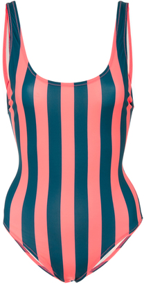 Solid & Striped Anne-Marie Striped One Piece $170 thestylecure.com