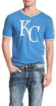 American Needle Eastwood V-Neck Tee Royals