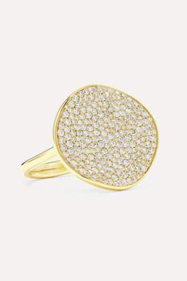 Ippolita Stardust Flower 18-karat Gold Diamond Ring