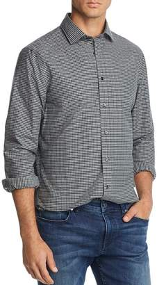 Bloomingdale's The Men's Store at Plaid Broadcloth Slim Fit Shirt - 100% Exclusive
