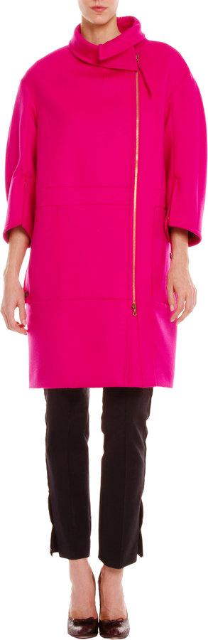 Nina Ricci Zip Front Coat