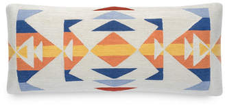 """Pendleton Trail Embroidered 14"""" X 30"""" Oblong Pillow"""