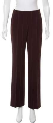 Akris Pinstripe Wide-Leg Pants
