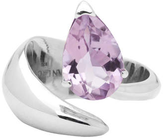 Alan Crocetti SSENSE Exclusive Silver and Purple Alien Ring