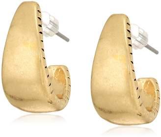 The Sak Women's Small Post Hoop Earrings, Color: