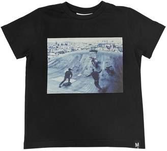 Molo Skater Printed Cotton Jersey T-Shirt