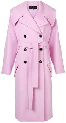 Rochas belted double breasted coat