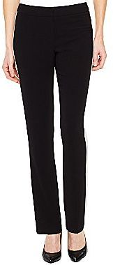 JCPenney Worthington® Slim Tuxedo-Striped Ankle Pants