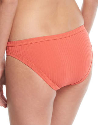Seafolly Inka Ribbed Hipster Swim Bikini Bottom